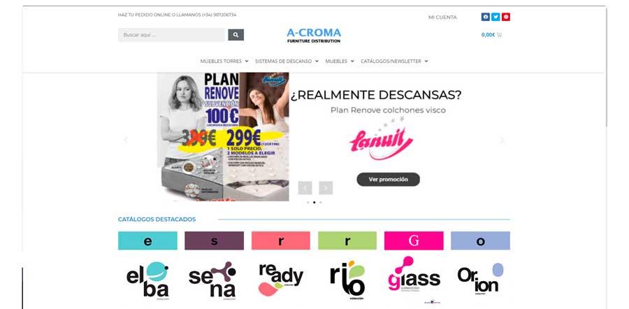 Tienda online a-croma.info