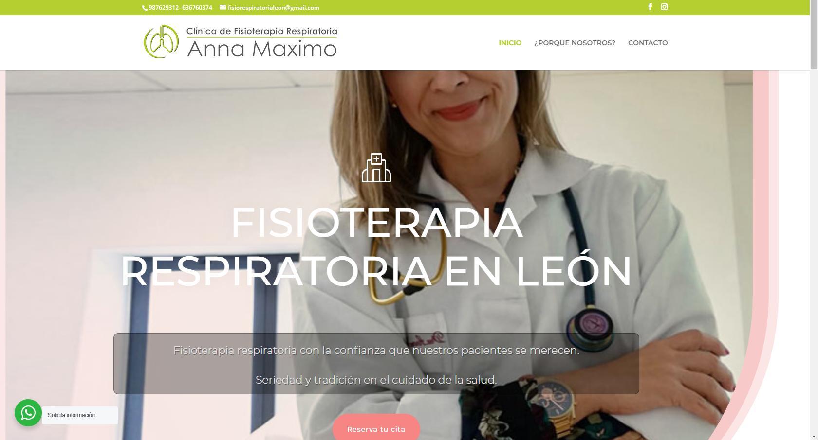 clinica fisioterapia respiratoria anna maximo
